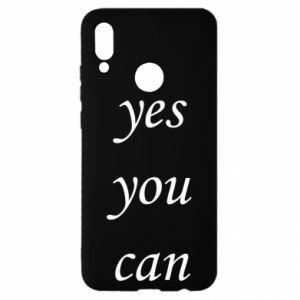 Etui na Huawei P Smart 2019 Napis: Yes you can