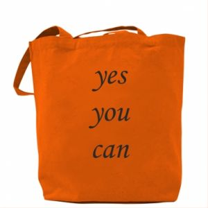 Torba Napis: Yes you can