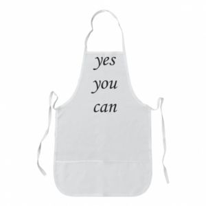 Fartuch Napis: Yes you can