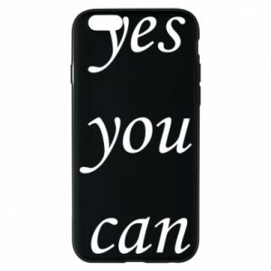 Etui na iPhone 6/6S Napis: Yes you can
