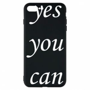 Etui na iPhone 7 Plus Napis: Yes you can