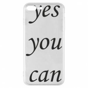 Etui na iPhone 8 Plus Napis: Yes you can