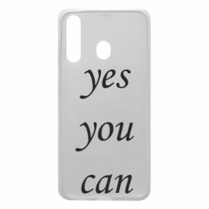 Etui na Samsung A60 Napis: Yes you can