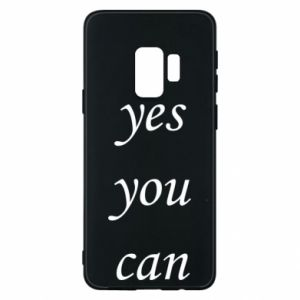 Etui na Samsung S9 Napis: Yes you can