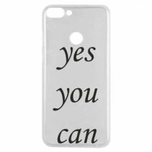 Etui na Huawei P Smart Napis: Yes you can
