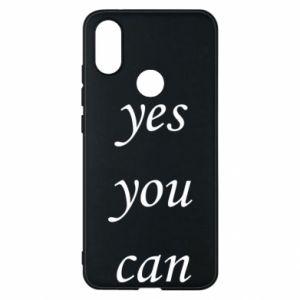 Etui na Xiaomi Mi A2 Napis: Yes you can