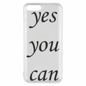Etui na Xiaomi Mi6 Napis: Yes you can