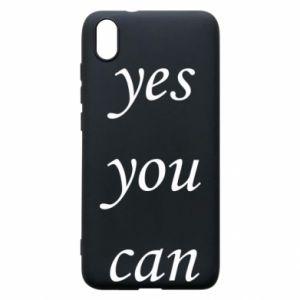 Etui na Xiaomi Redmi 7A Napis: Yes you can