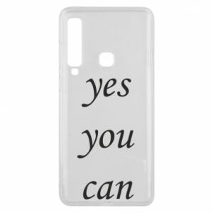 Etui na Samsung A9 2018 Napis: Yes you can