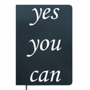 Notes Napis: Yes you can