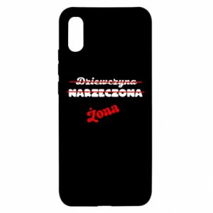 Xiaomi Redmi 9a Case Inscription: Wife