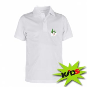 Children's Polo shirts Penguin skiing