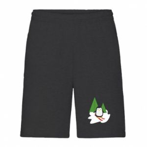 Men's shorts Penguin skiing