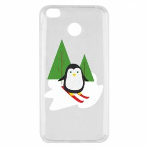 Xiaomi Redmi 4X Case Penguin skiing