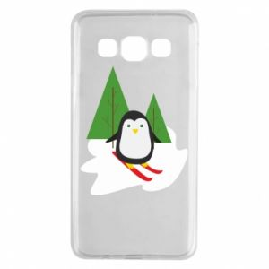 Samsung A3 2015 Case Penguin skiing