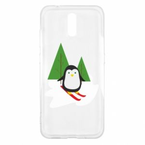 Nokia 2.3 Case Penguin skiing