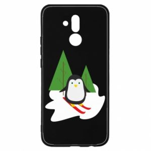 Huawei Mate 20Lite Case Penguin skiing