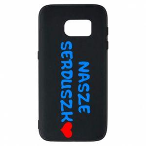 Etui na Samsung S7 Nasze serduszko, dla chłopca