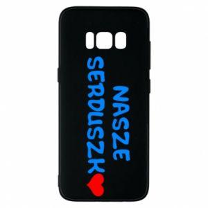 Etui na Samsung S8 Nasze serduszko, dla chłopca