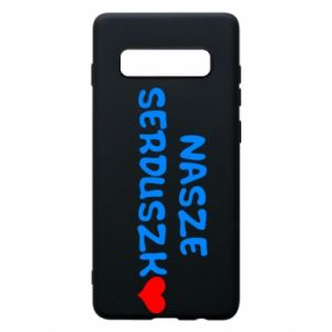 Etui na Samsung S10+ Nasze serduszko, dla chłopca