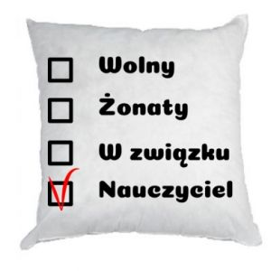 Pillow Teacher - PrintSalon