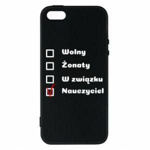 Phone case for iPhone 5/5S/SE Teacher - PrintSalon