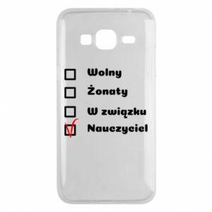 Phone case for Samsung J3 2016 Teacher - PrintSalon