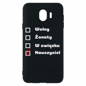 Phone case for Samsung J4 Teacher - PrintSalon
