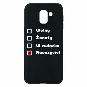 Phone case for Samsung J6 Teacher - PrintSalon