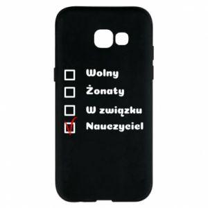 Phone case for Samsung A5 2017 Teacher - PrintSalon