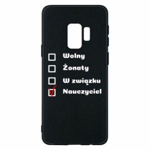 Phone case for Samsung S9 Teacher - PrintSalon