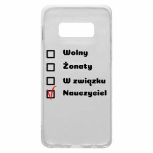 Phone case for Samsung S10e Teacher - PrintSalon