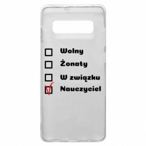 Phone case for Samsung S10+ Teacher - PrintSalon