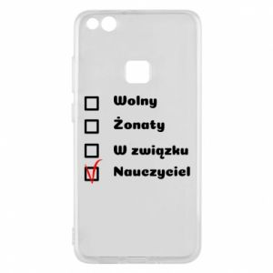 Phone case for Huawei P10 Lite Teacher - PrintSalon