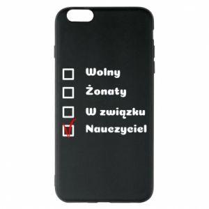 Phone case for iPhone 6 Plus/6S Plus Teacher - PrintSalon