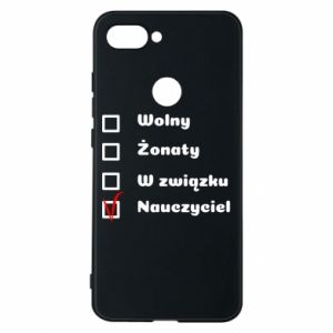 Phone case for Xiaomi Mi8 Lite Teacher - PrintSalon