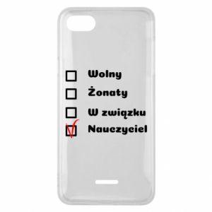 Phone case for Xiaomi Redmi 6A Teacher - PrintSalon