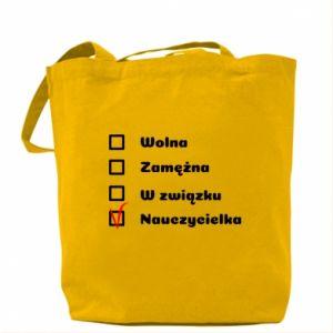 Bag Teacher -woman - PrintSalon