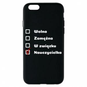 Phone case for iPhone 6/6S Teacher -woman - PrintSalon