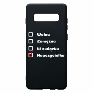 Phone case for Samsung S10+ Teacher -woman - PrintSalon