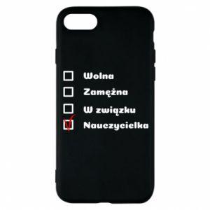 Phone case for iPhone 8 Teacher -woman - PrintSalon