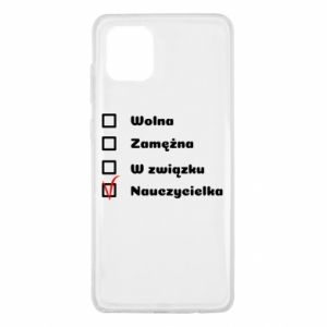Etui na Samsung Note 10 Lite Nauczycielka