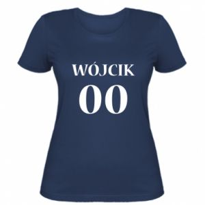 Women's t-shirt Surname and number