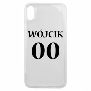 Phone case for iPhone Xs Max Surname and number
