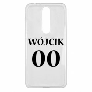 Etui na Nokia 5.1 Plus Nazwisko i numer