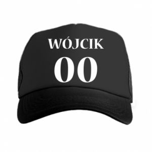 Trucker hat Surname and number