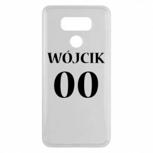 Etui na LG G6 Nazwisko i numer