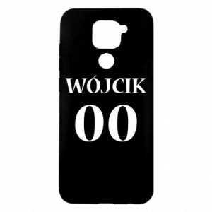 Etui na Xiaomi Redmi Note 9/Redmi 10X Nazwisko i numer