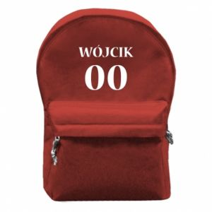 Backpack with front pocket Surname and number