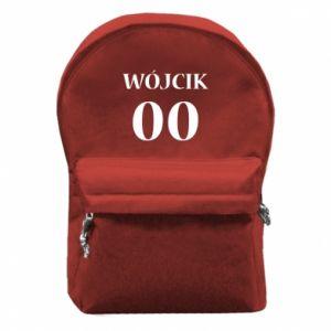 Plecak z przednią kieszenią Nazwisko i numer - PrintSalon